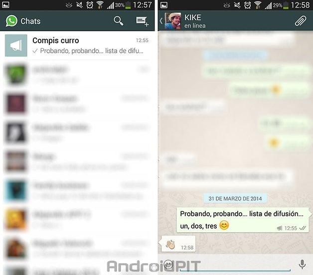 whatsapp lista difusion 5