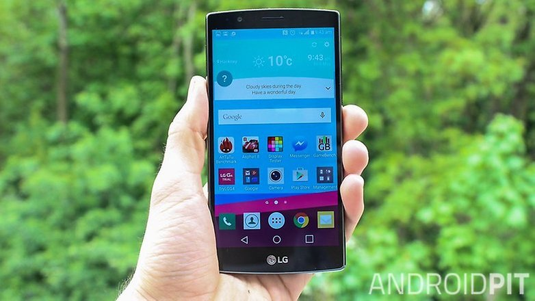 Lg g4 front w782