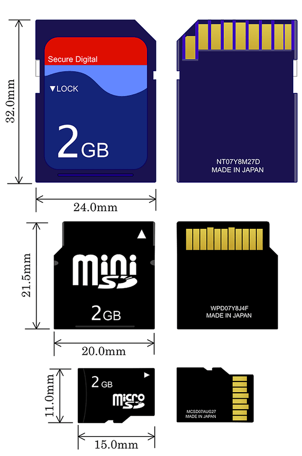 1000px SD Cards