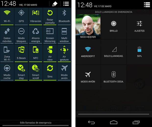Touchwiz vs Stock Android 5