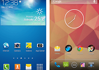 Samsung TouchWiz vs. Stock Android - Comparación de interfaces