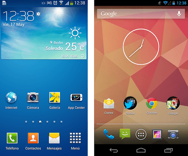 Touchwiz vs Stock Android