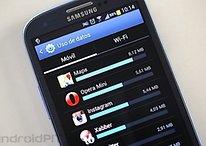 Consumo de datos móviles - ¿Son 196 MB suficientes?