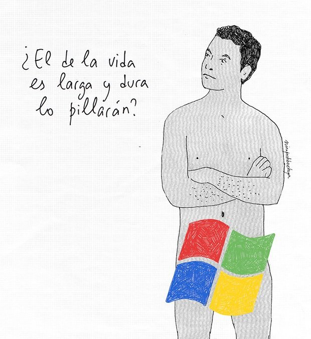 microsoft cancion pene