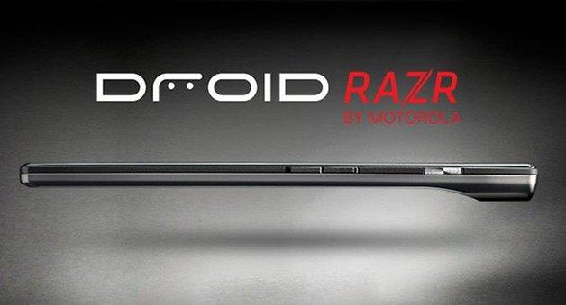Motorola RAZR Detalle