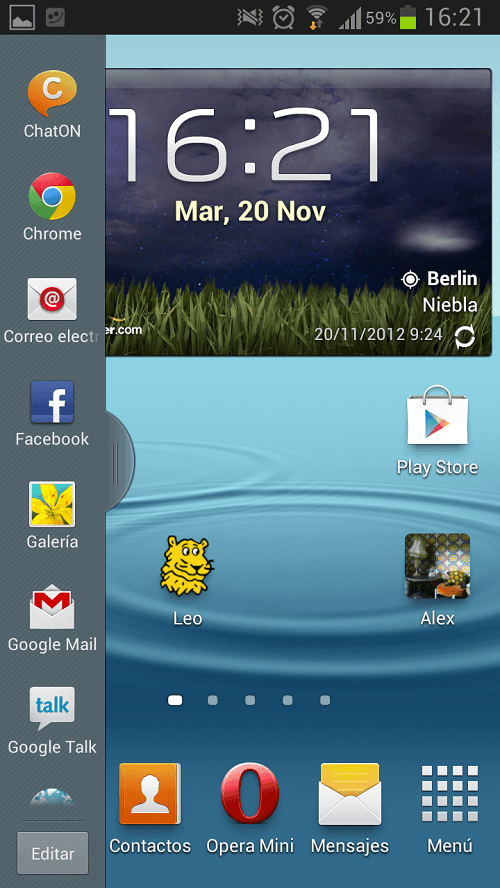 ventana multiple android 4.1.2 2