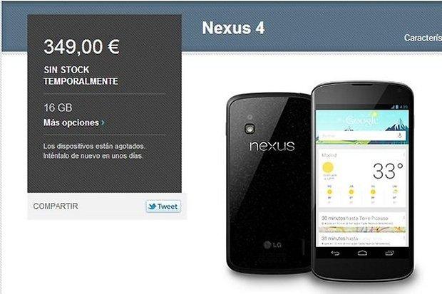nexus 4 stock