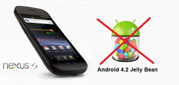 android 4.2 nexus s motorola xoom