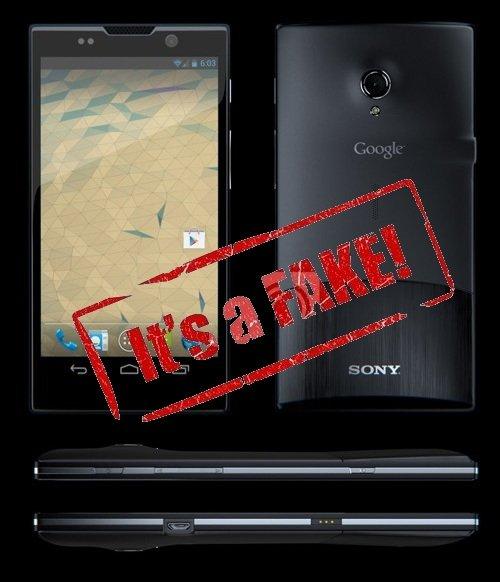 Sony Nexus X falso