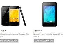 Nexus 4 y Nexus 10: ¡Mañana comienzan los pedidos con envío inmediato!