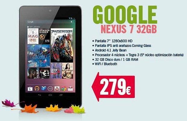 Nexus 7 32GB comprar