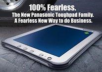 Panasonic presenta su tablet todoterreno: Toughpad (Vídeo)