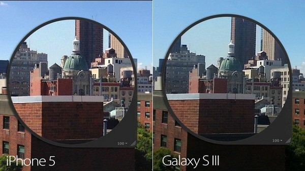 iphone 5 vs. galaxy s3 mejor camara 3