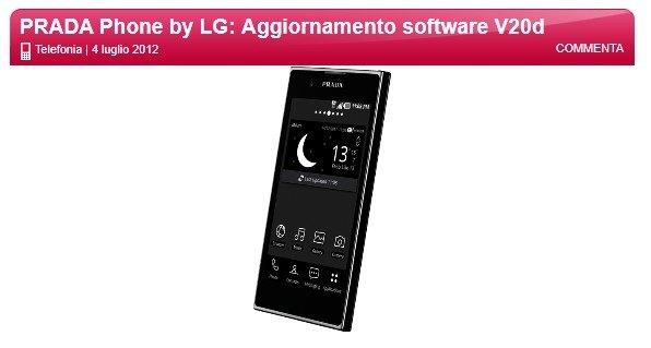 actualizacion lg prada android 4.0