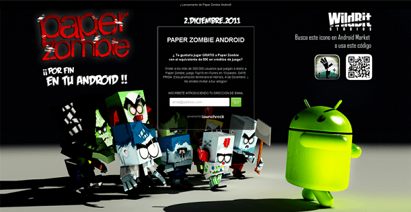 Paper Zombie Android