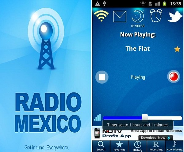 radio mexico android
