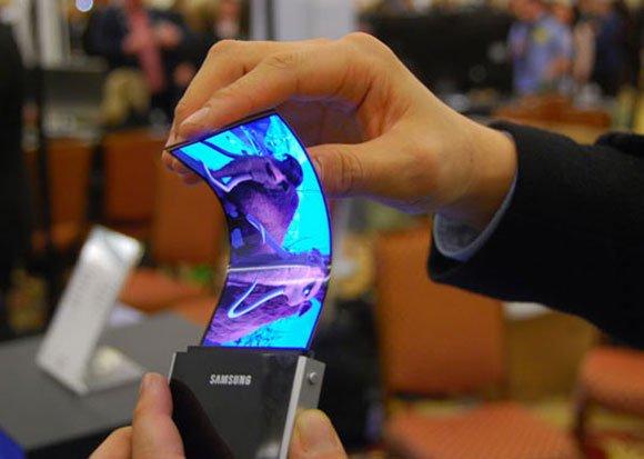 samsung pantalla flexible OLED