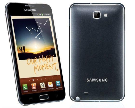 Samsung galaxy note y galaxy nexus españa