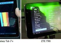 """[CES] Tablets: ZTE T98 7 """" con Tegra 3 y el nuevo Galaxy Tab 7+"""