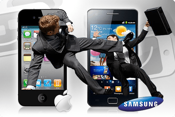 Guerra de patentes: samsung y apple