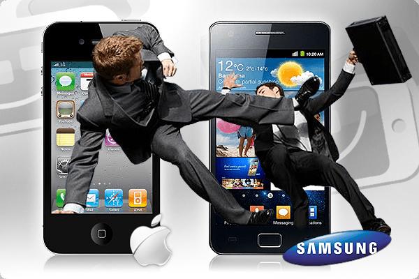 Guerra de patentes: samsung y apple