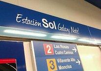 Samsung Galaxy Note vira nome de estação de metrô em Madri