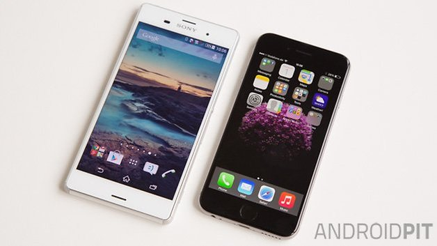sony xperia z3 iphone 6 androidpit 10