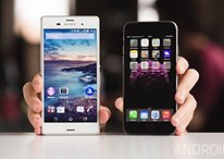 Sony Xperia Z3 vs iPhone 6 - Comparación