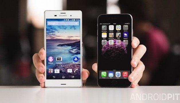 Sony Xperia Z3 vs. iPhone 6: comparação de feras