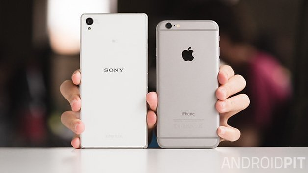 sony xperia z3 iphone 6 androidpit 14