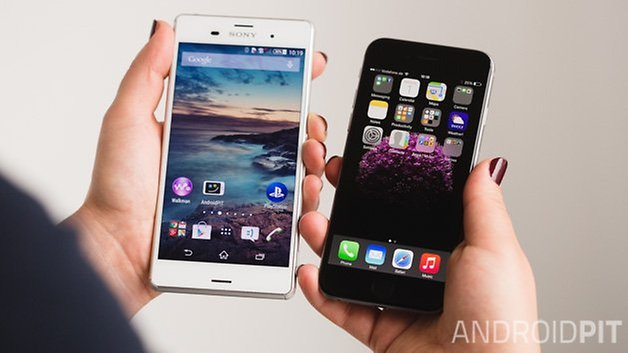 sony xperia z3 iphone 6 androidpit 20