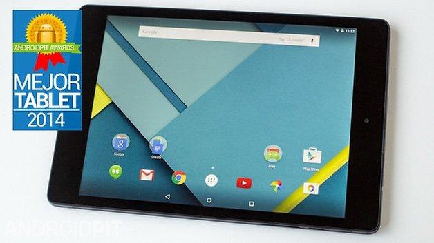 Nexus 9 2014 ANDROIDPIT mejor tablet