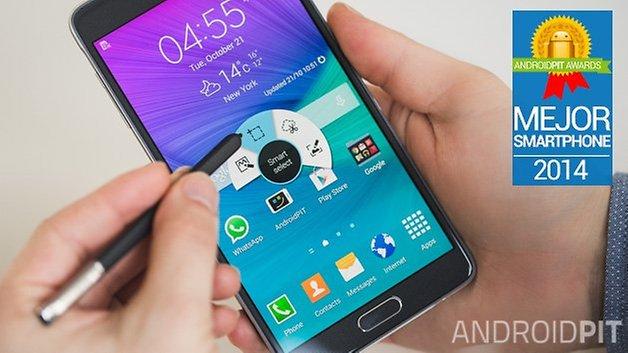 Samsung Galaxy Note 4 mejor smartphone