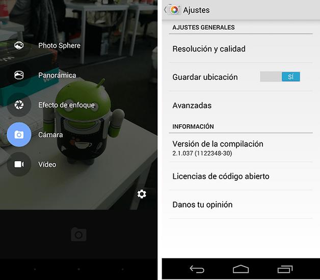 camara google android