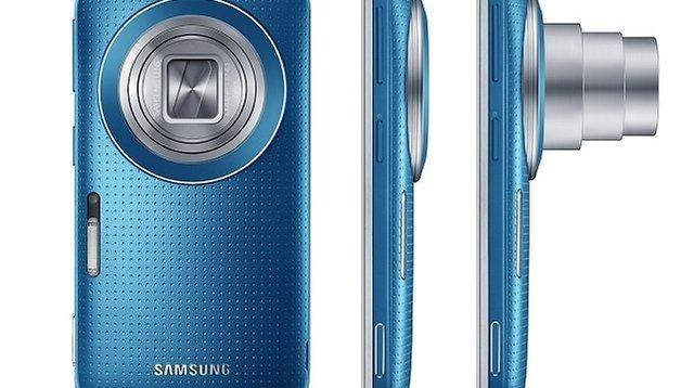 Samsung svela il Galaxy K Zoom con 20.7 MP e Android 4.4. Kitkat