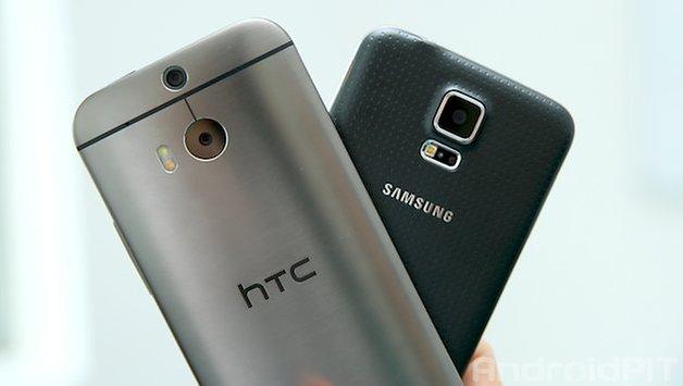 htc one m8 galaxy s5 5