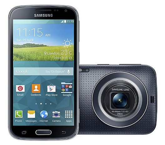 The Galaxy K Zoom unveiled!