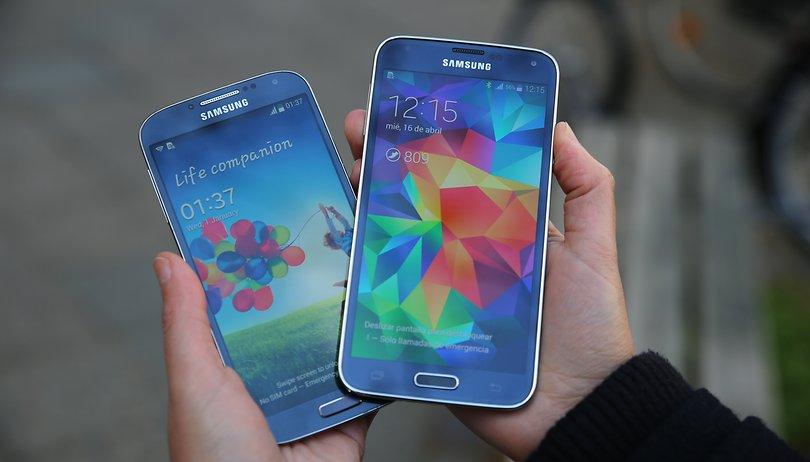 Samsung Galaxy S4 vs S5 - ¿Qué novedades reales hay? (Vídeo)