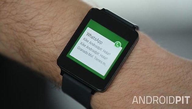 Android Wear - WhatsApp y Facebook Messenger llegan en su versión Beta