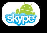 Skype bald mit richtiger Android Version