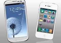 Comparativa Samsung Galaxy S3 vs iPhone 4S: Nuevos tests y diferencias