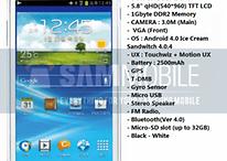 """Il nuovo Galaxy Player sarà un piccolo tablet da 5,8""""?"""