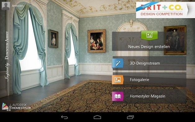 homestyler interior design androidpit. Black Bedroom Furniture Sets. Home Design Ideas