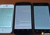 Galaxy Nexus x iPhone 4S x Samsung Galaxy S2 - qual deles tem a melhor tela?