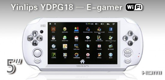 Yinlips YDPG18: Android + PlayStation