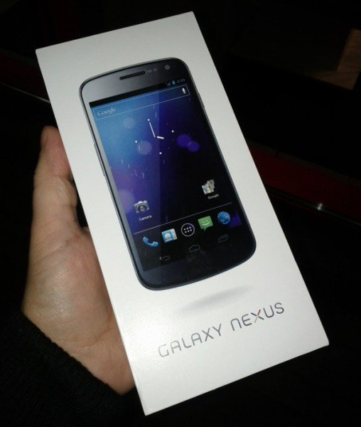 Galaxy Nexus chega no mercado... alemão