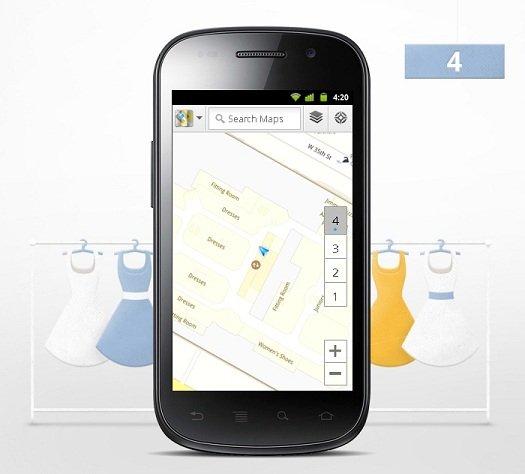 Versão 6.0 do Google Maps traz navegação interior