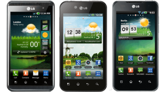 Oficial: LG disponibiliza upgrade para ICS para os aparelhos Optimus Speed, Black e 3D