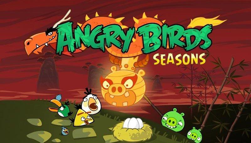 Angry Birds Seasons homenageia o Ano Novo chinês e já está no Market