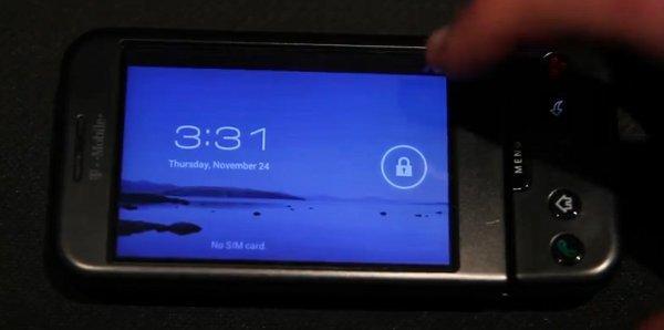 Ice Cream Sandwich também para HTC G1